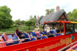 Bus tours Stratford upon avon 1