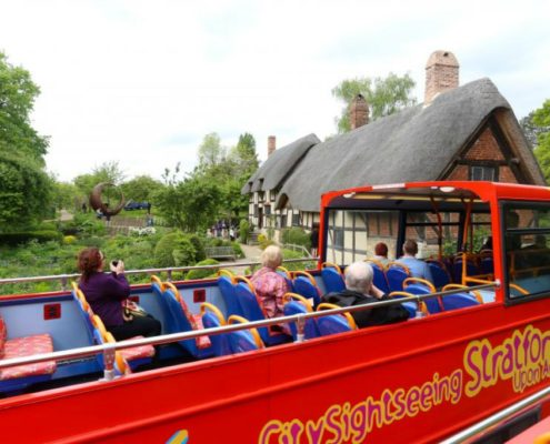 Bus tours Stratford upon avon 1