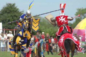 Warwick Castle Knights Jousting