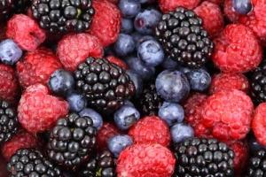 Fresh berries Burnside Restaurant
