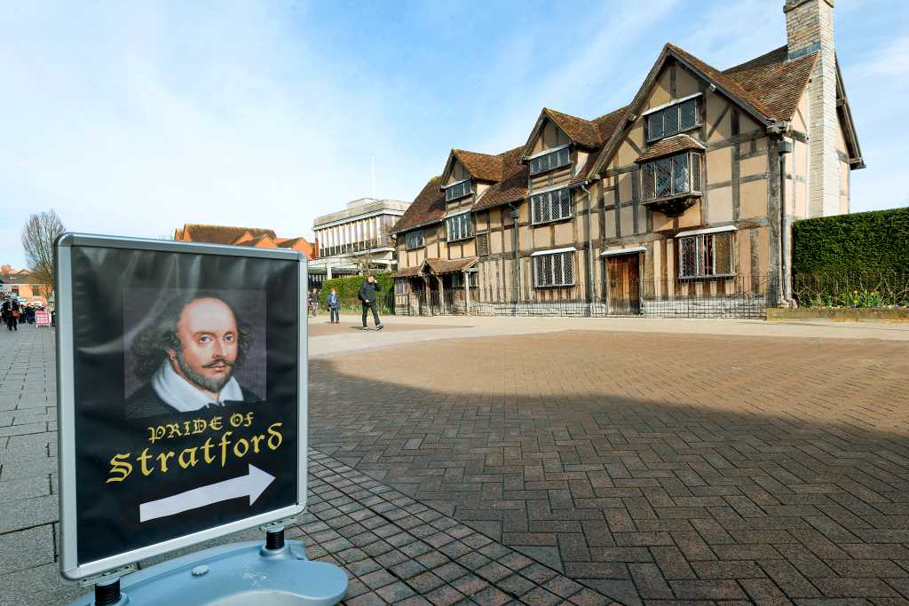 Shakespeares Birthplace Stratford