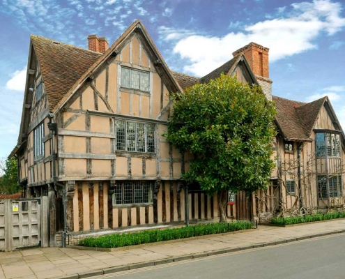 Shakespeares Halls Croft