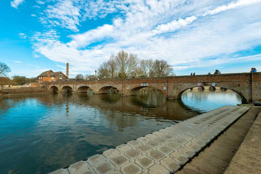 Tramway Bridge Stratford upon Avon