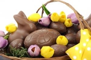 Choc Easter bunny