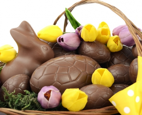 Choc Easter bunny